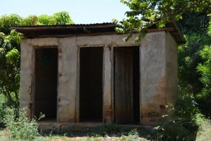 The Water Project : 9-kenya4459-latrines