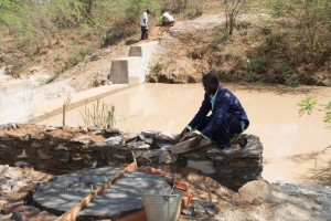 The Water Project : 1-kenya4474-construction