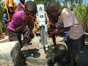 The Water Project:  Handing Over
