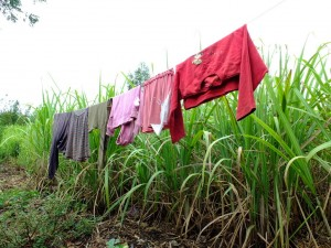 The Water Project : 1-kenya4523-clothesline