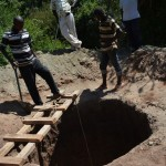 The Water Project : 12-kenya4481-well-construction