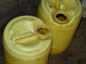 The Water Project : 14-kenya4523-water-containers