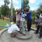 The Water Project : 3-kenya4521-pump-installation