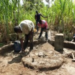 The Water Project: Kakoyi Well Rehabilitation Project -  Construction