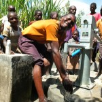 The Water Project: Kakoyi Well Rehabilitation Project -  Handing Over