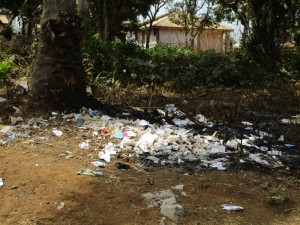 The Water Project : 7-sierraleone5082-rubbish-pile