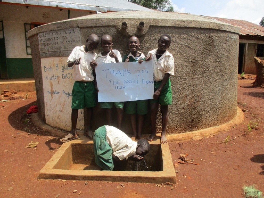 Photo of Essumba Primary School Rainwater Catchment Project