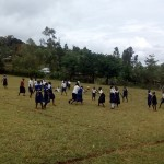 The Water Project: Esalwa Primary School Rainwater Catchment Project -