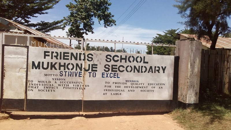 The Water Project : 1-kenya4610-school-entrance