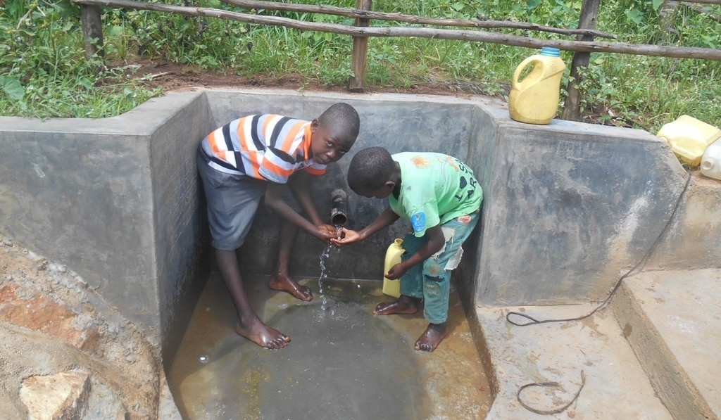 Photo of Andrea Mutende Spring Protection Project