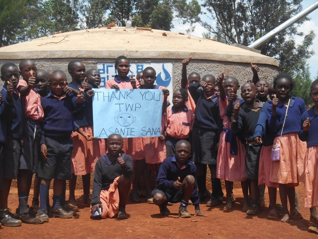 Photo of Amalemba Primary School Rainwater Catchment Project