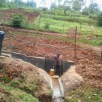The Water Project: Wakidima Spring Protection Project -