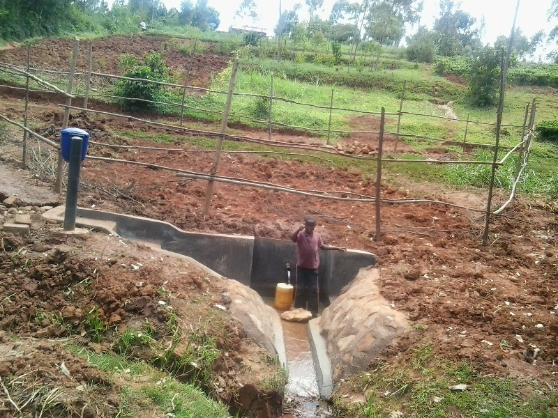Photo of Wakidima Spring Protection Project
