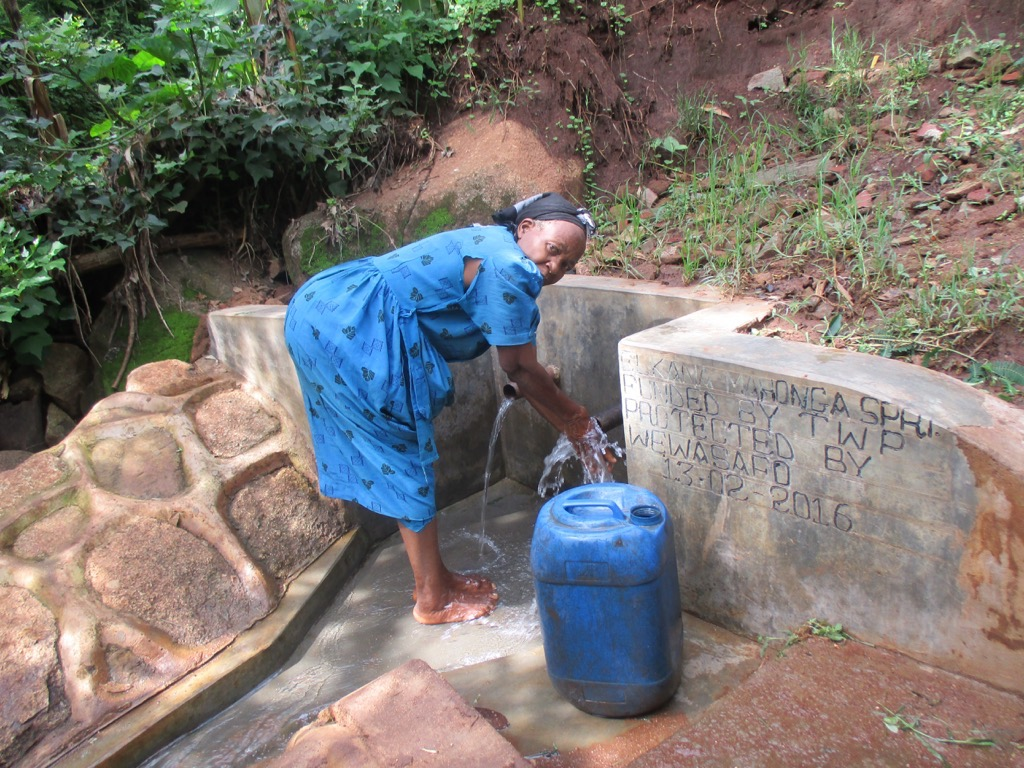 The Water Project : 22-kenya4559-protected-spring