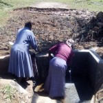 The Water Project: Esilaba Spring Protection Project -
