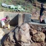 The Water Project: Staus Amayuka Spring Protection Project -