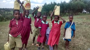 The Water Project : 4-kenya4606-fetching-water