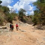 The Water Project: Kisaila Sand Dam Project -