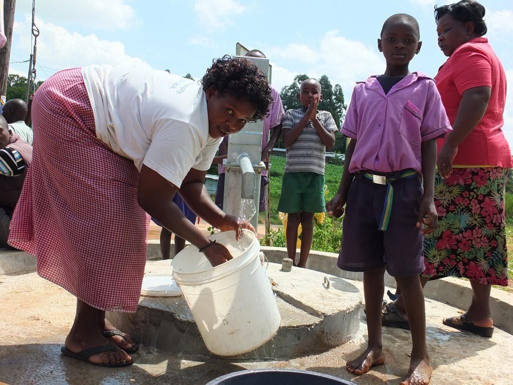 Photo of Kakoyi Corner Well Rehabilitation Project