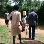 The Water Project: Andrea Mutende Spring Protection Project -
