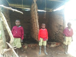 The Water Project : 7-kenya4606-old-latrines