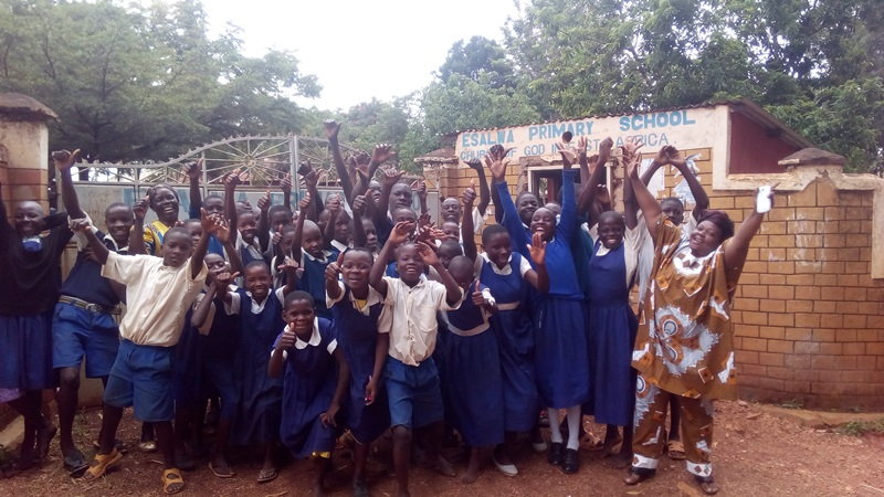 The Water Project : 7-kenya4609-school-entrance