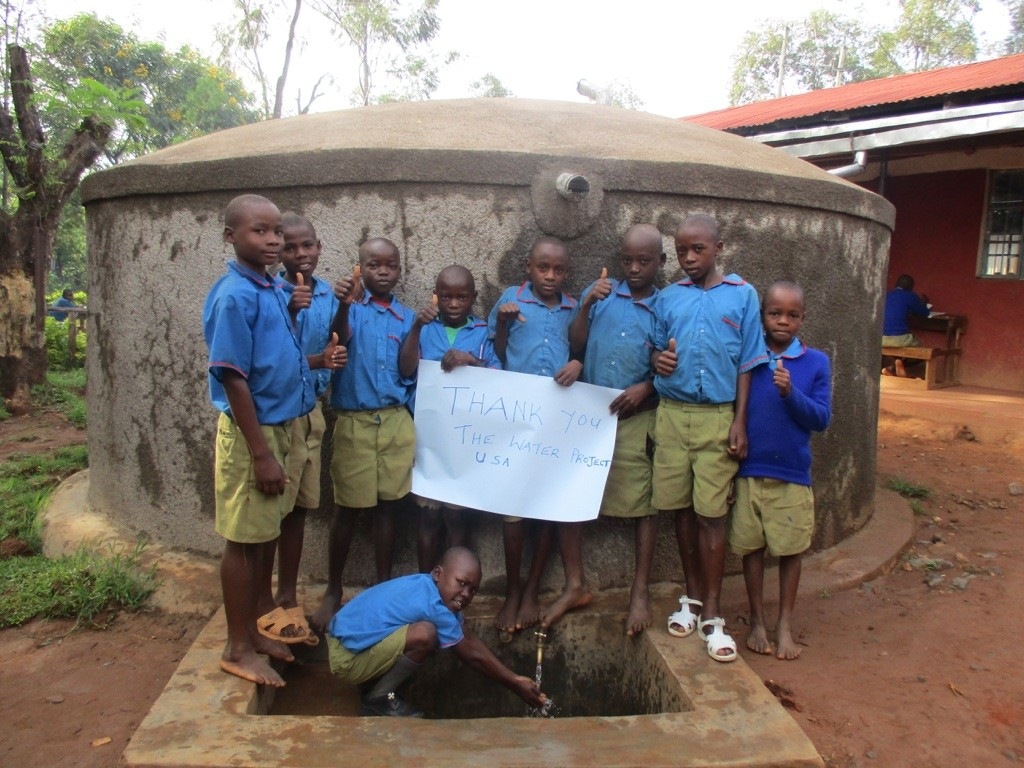 Photo of Emusutswi Primary School Rainwater Catchment Project