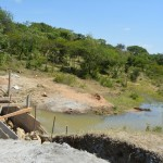 The Water Project : 1-kenya4462-dam-construction