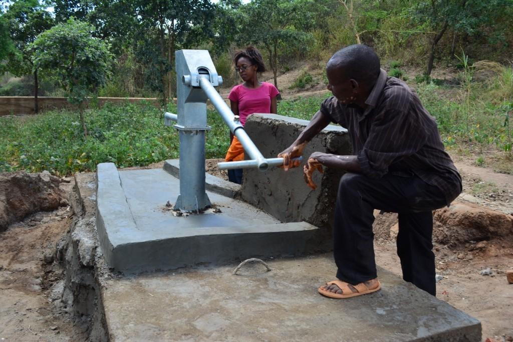 Photo of Kyandwiki New Well Project