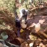 The Water Project : 1-kenya4567-unprotected-spring