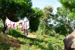 The Water Project : 10-kenya4463-clothesline