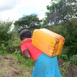 The Water Project : 12-kenya4466-fetching-water