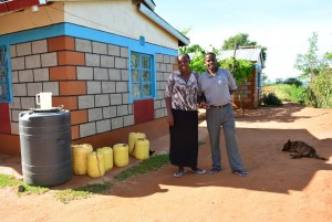 The Water Project : 14-kenya4463-janets-house