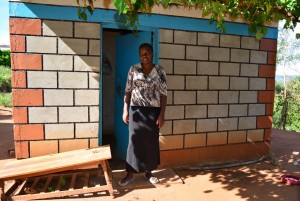 The Water Project : 15-kenya4463-janets-house