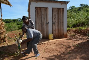 The Water Project : 16-kenya4463-janets-house