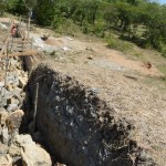 The Water Project : 2-kenya4462-dam-construction