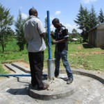 The Water Project : 32-kenya4523-pump-installation