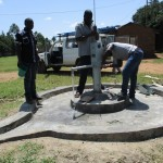 The Water Project : 37-kenya4523-pump-installation