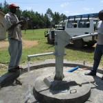 The Water Project : 39-kenya4523-pump-installation