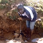 The Water Project : 4-kenya4567-unprotected-spring
