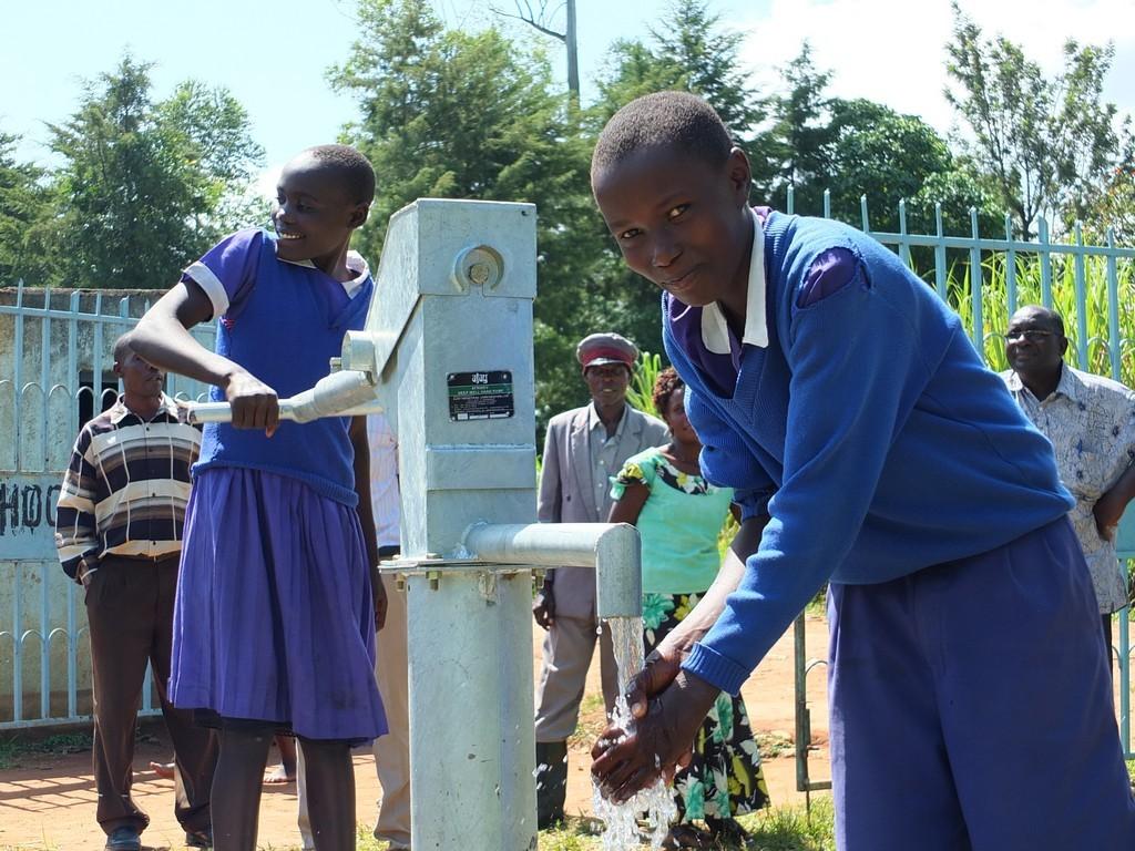 The Water Project : 48-kenya4523-handing-over