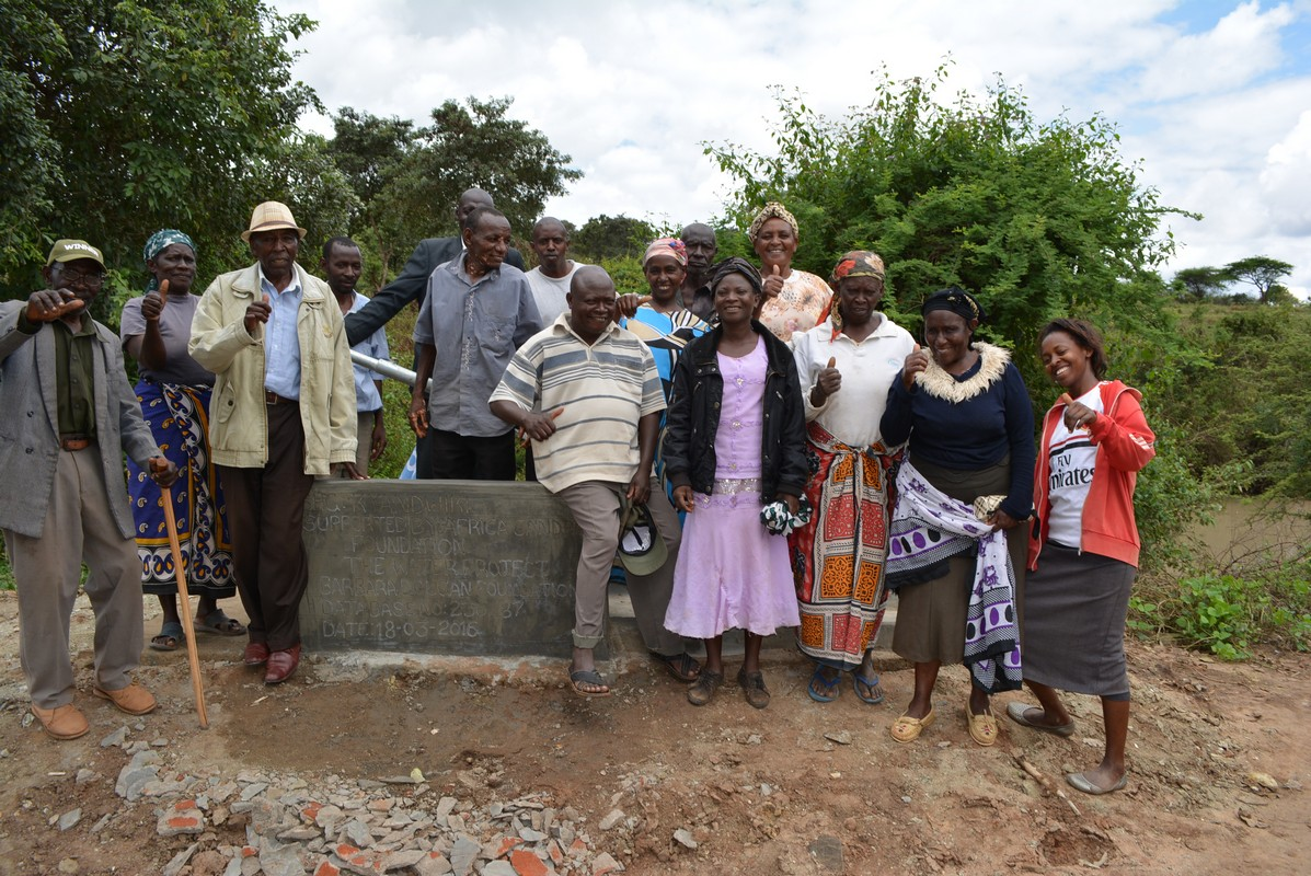 The Water Project : 5-kenya4481-finished-well-2