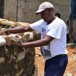 The Water Project : 5-kenya4500-construction