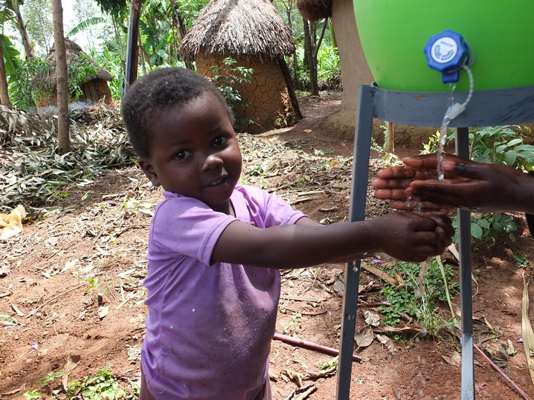 The Water Project : 57-kenya4522-handwashing-stations