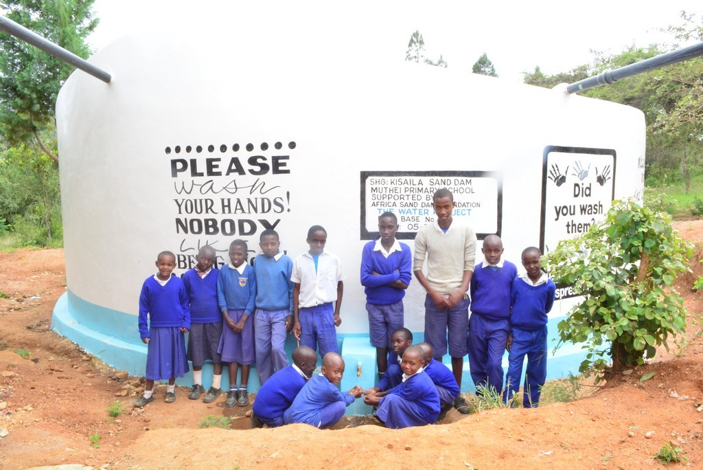 Photo of Muthei Primary School Rainwater Catchment Project