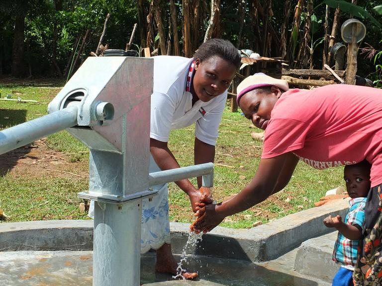 Photo of Mang'uliro Community Well Rehabilitation Project