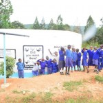 The Water Project : 8-kenya4500-finished-tank