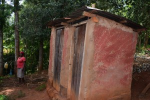 The Water Project : 8-kenya4634-latrines