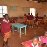 The Water Project: Maiani Primary School -  Classroom