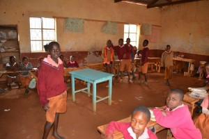 The Water Project : 1-kenya4502-classroom